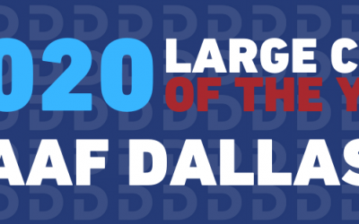 AAF DALLAS IS THE DIVISION I LARGE CLUB OF THE YEAR